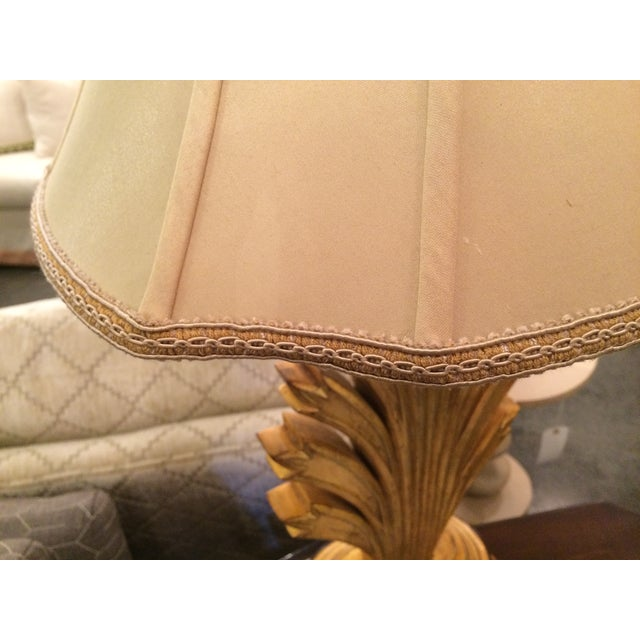 Gold Leaf Wildwood Lamp For Sale - Image 5 of 8