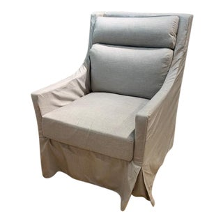 Summer Classics Helena Upholstered Swivel Glider Outdoor Chair For Sale