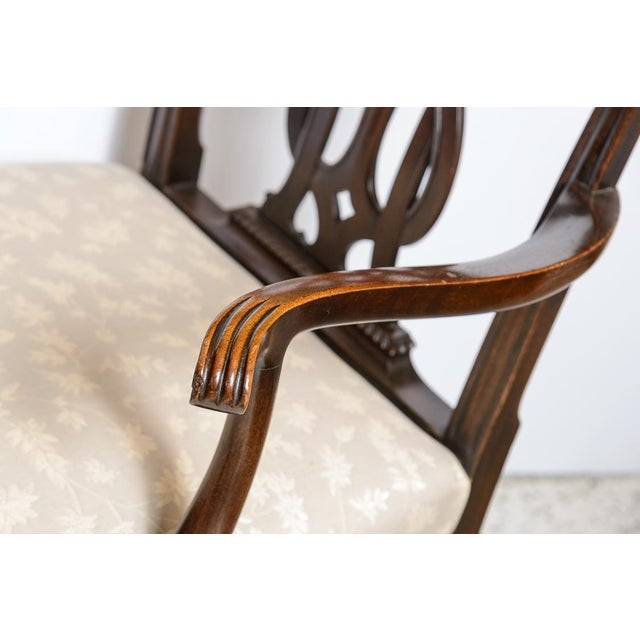 Chippendale Set of 8 Chippendale Style Dining Chairs For Sale - Image 3 of 9