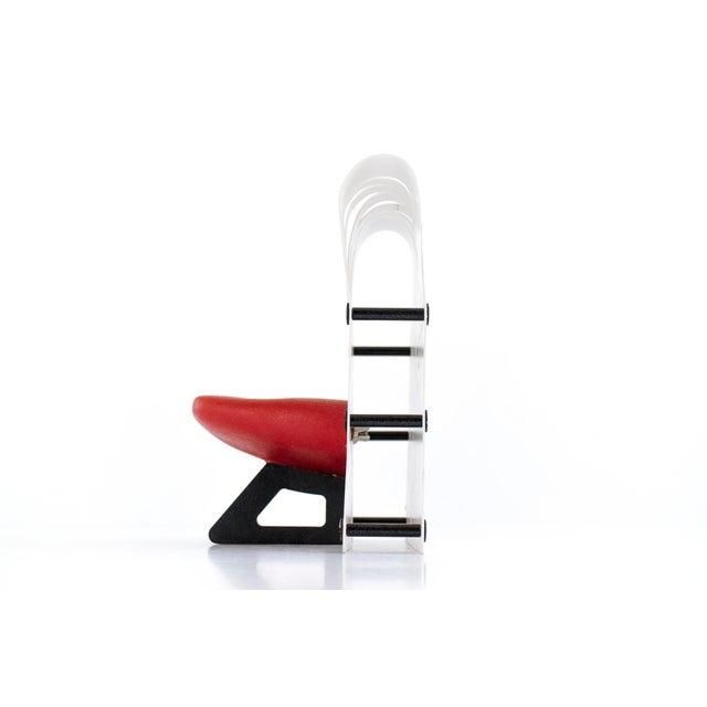 """Gaetano Pesce Gaetano Pesce """"La Smorfia"""" Chair Model For Sale - Image 4 of 6"""
