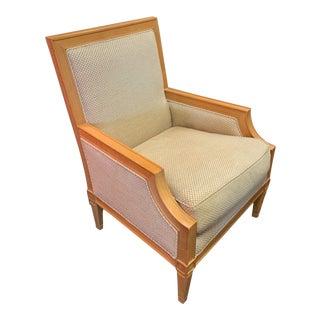 1990s Vintkage Baker Louis-Philippe Fauteuil Armchair For Sale