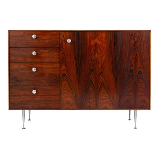 Early Thin Edge Cabinet in Rosewood by George Nelson for Herman Miller For Sale