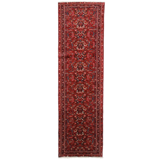 Vintage Persian Karajeh Runner - 3′3″ × 11′1″ For Sale