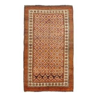 Vintage Mid-Century Persian Mishan Rug - 4′4″ × 7′10″ For Sale