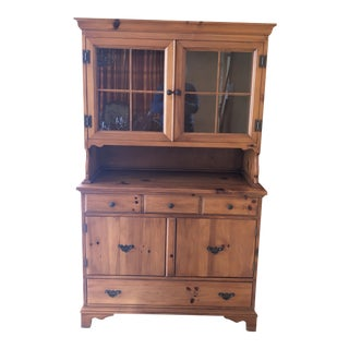 Early 20th Century John A. Colby & Sons Buffet & Hutch For Sale