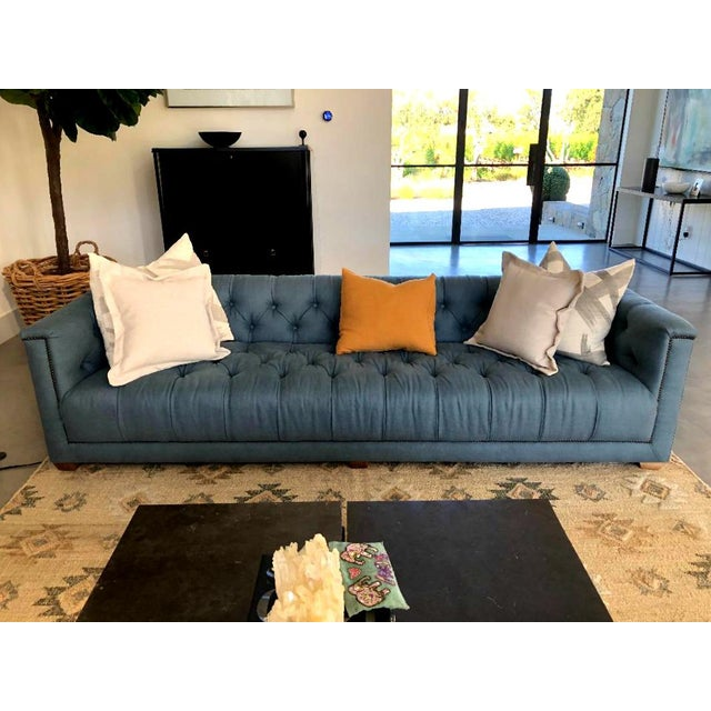 This beautiful sofa from Restoration Hardware's Savoy Collection is less than a year old and has rarely been used. It was...
