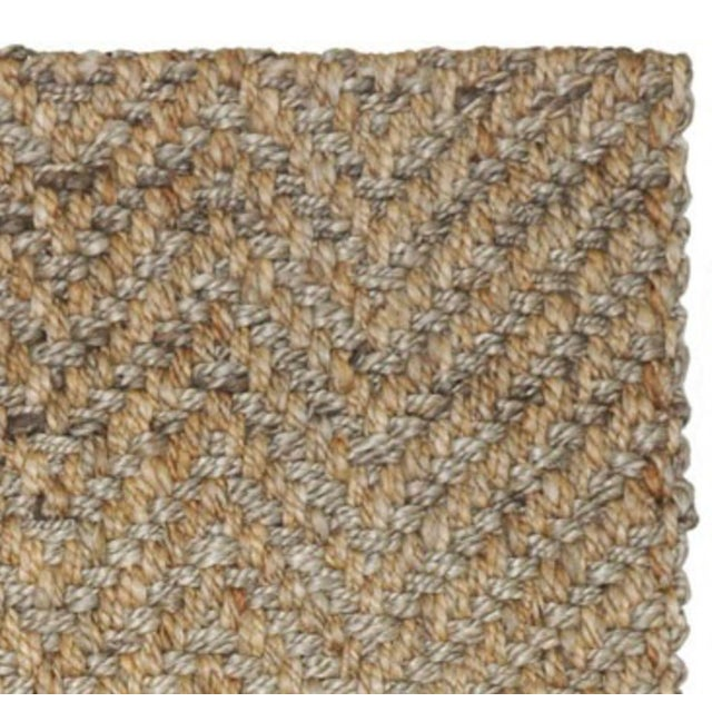 Our handwoven Herringbone two tone jute rug reimagines the time-honored pattern, reflecting the remarkable craftsmanship...