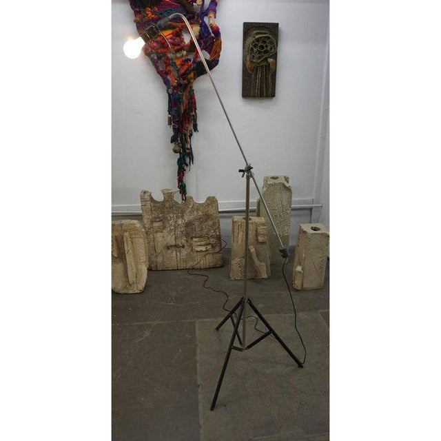 Metal Roland Smith Tripod Floor Lamp For Sale - Image 7 of 9