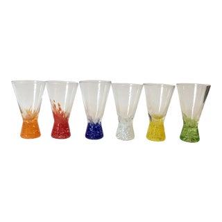 Colorful Shot Glasses - Set of 6