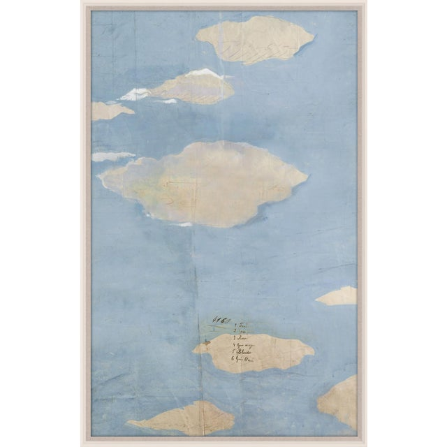 Contemporary Paule Marrot, Les Nuages 4, Framed Artwork For Sale - Image 3 of 3
