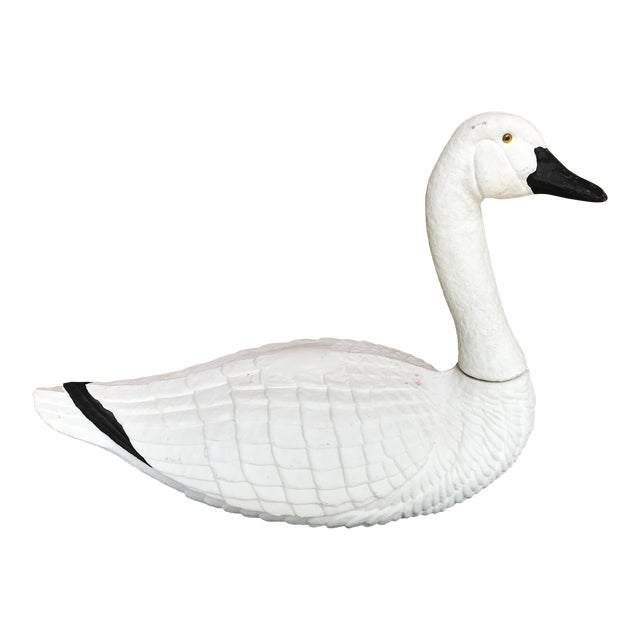 Paper Mache Swan - Large For Sale