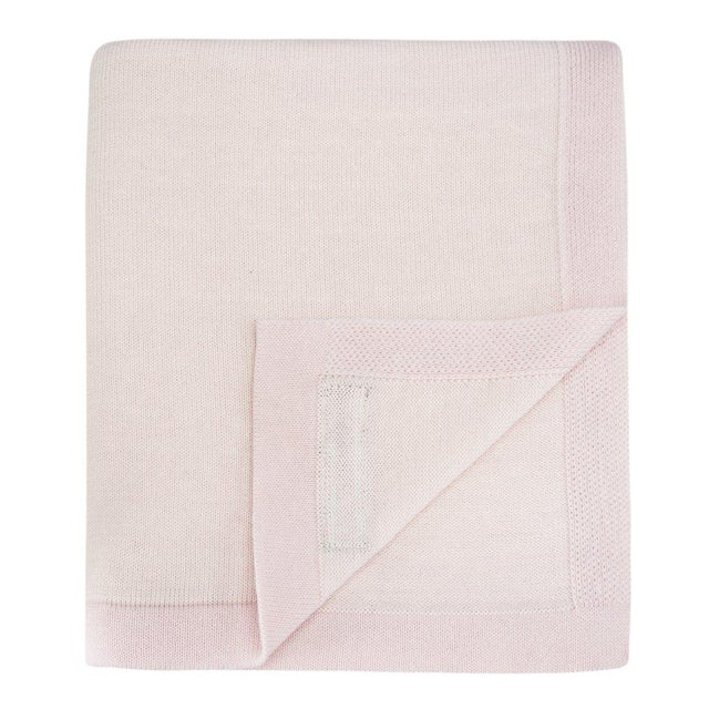The Yorkville Baby Blanket in Ballerina Pink For Sale - Image 4 of 5