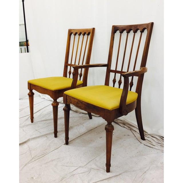Vintage mid century modern dining chairs set of 6 chairish for Modern dining chairs ireland