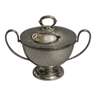 Goldsmiths & Silversmiths LTD Silver English Soup Tureen For Sale