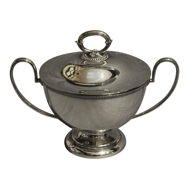 Goldsmiths & Silversmiths LTD Silver English Soup Tureen For Sale