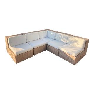 Janus Et Cie Dedon Sectional Sofa For Sale
