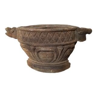 Primitive African Decorative Wood Bowl