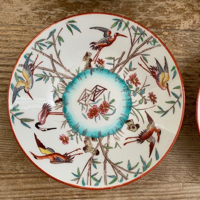 Minton Antique English Minton Appetizer Bowls Trinket Dishes - Set of 4 For Sale - Image 4 of 7