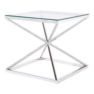 Blink Home Silver Cross Side Table