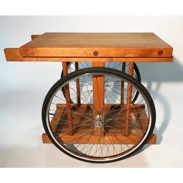 California design bar cart by bill w sanders chairish for California design west