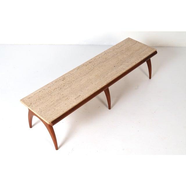 Bertha Schaefer Mid-Century Bertha Schaefer Coffee Table For Sale - Image 4 of 7