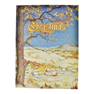 1943 Christmas Book, An American Annual of Christmas Literature and Art- Volume 13 For Sale