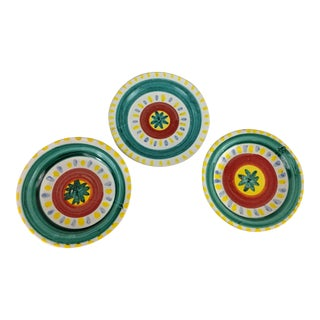 Mid-Century DeSimone Plates - Set of 3 For Sale