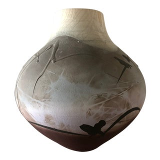 Contemporary Organic Hand-Made Vessel For Sale