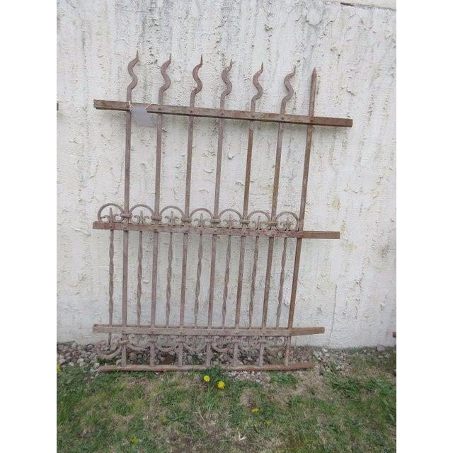 Antique Victorian Garden Fence Salvage - Image 6 of 6