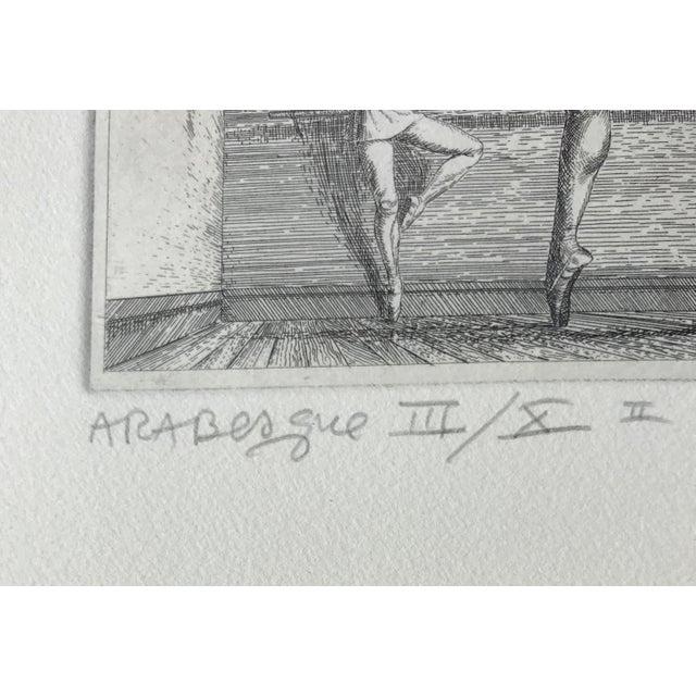 Figurative Paul Cadmus Arabesque Etching For Sale - Image 3 of 7