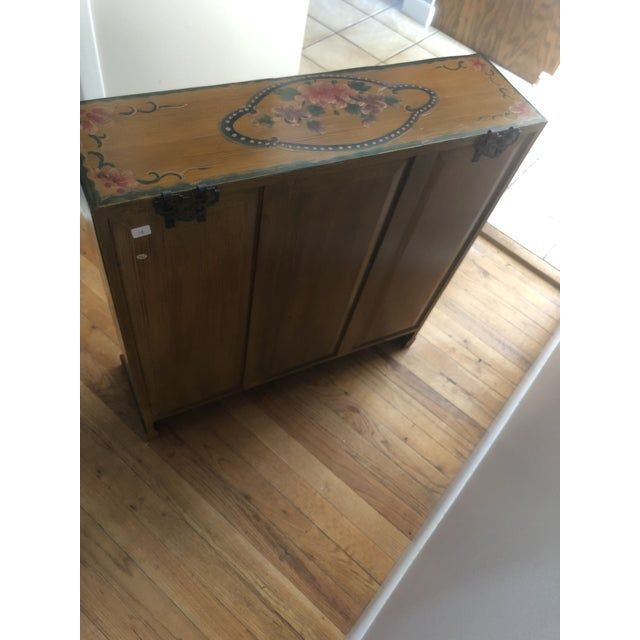 19th Century Antique Wood Cabinet For Sale In New York - Image 6 of 8