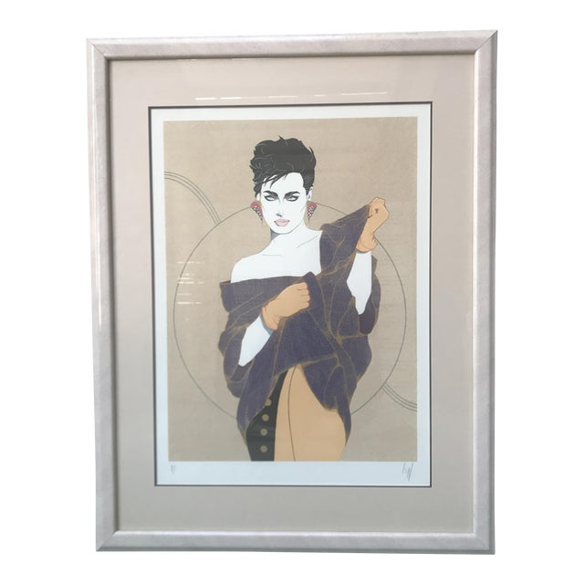 """Denise"" Serigraph by Steve Leal - Image 1 of 8"