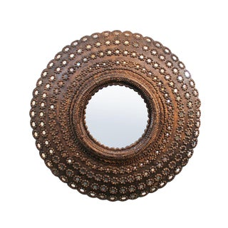 Round Peacock Mirror Frame For Sale