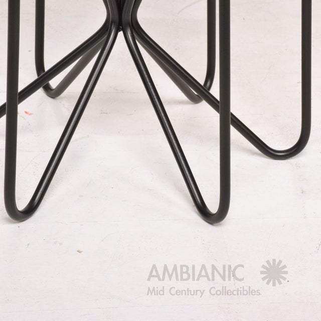 Black Mid-Century Modern Style Side Table For Sale - Image 8 of 10