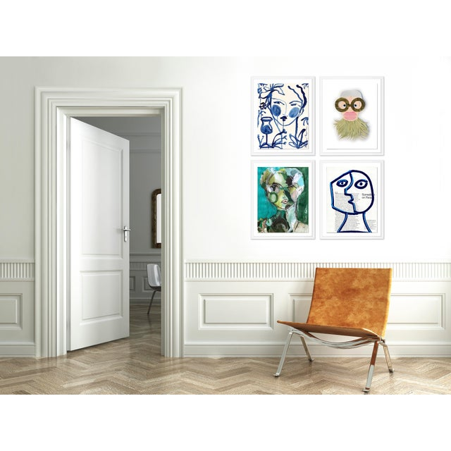 With the purchase of this item, you will be receiving the following prints, framed and ready to hang: 1. Funny Face 1 by...