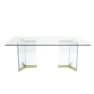 1960s Modern Leon Rosen for Pace Collection Sculptural Dining Table For Sale