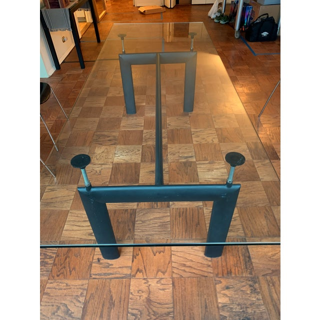 Modern Modern Corbusier Lc6 Style Dining Table For Sale - Image 3 of 4