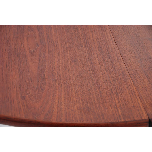 Mid-Century Danish Modern Table by Willy Beck For Sale - Image 7 of 10