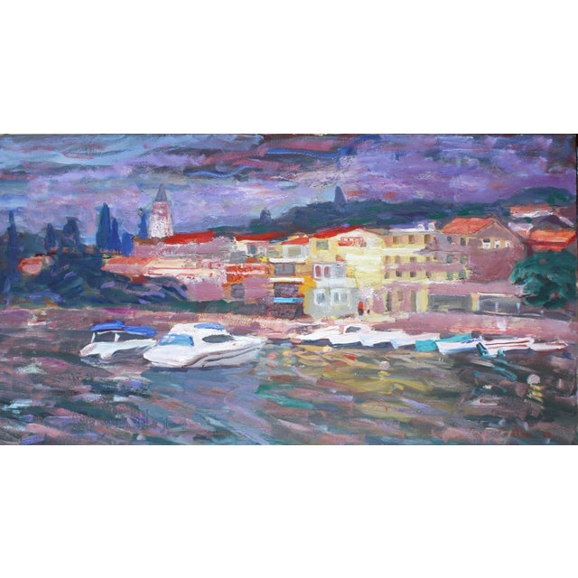 Portofino Original Painting by Murat Kaboulov - Image 1 of 2