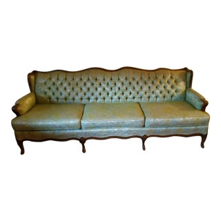 Bassett Furniture Mid Century Couch & Loveseat For Sale