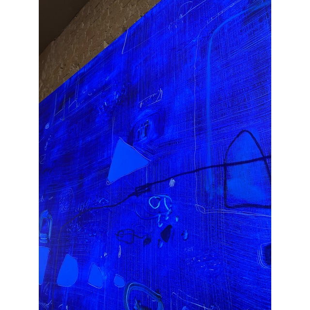 Canvas Monumental Contemporary Abstract XV by William McLure For Sale - Image 7 of 11