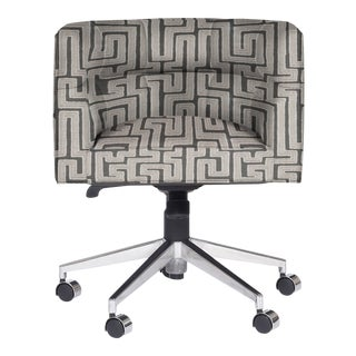 Casa Cosima Perry Desk Chair, Westridge Graphite For Sale