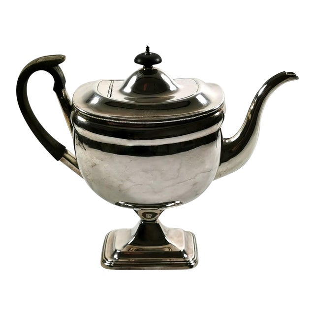 1820-1830 Sheffield Plate George IV Coffee Pot For Sale