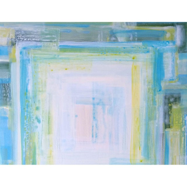 """St CROiX"", Abstract Painting by Linnea Heide - Image 3 of 6"