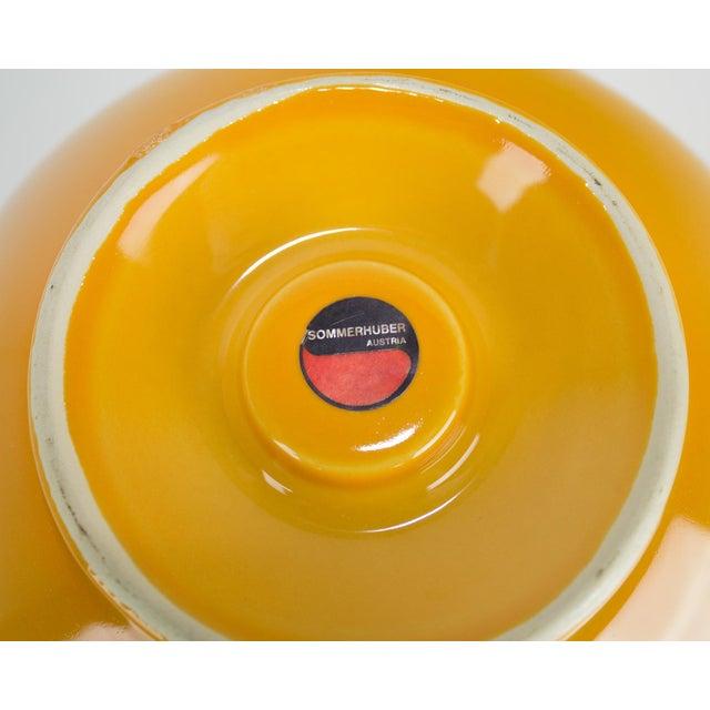 Vintage Yellow Studio Nova By Sommerhuber Austria Vase Chairish
