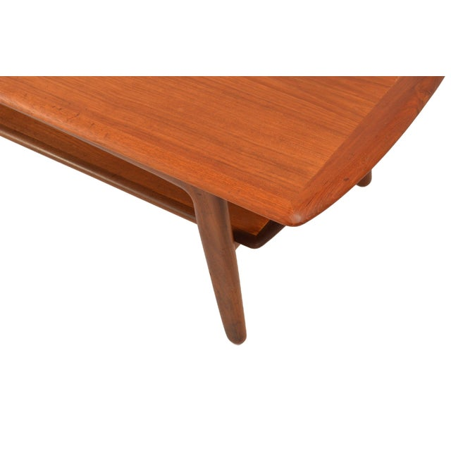 Mid-Century Modern Mid-Century Svend A. Madsen Teak Coffee Table For Sale - Image 3 of 7