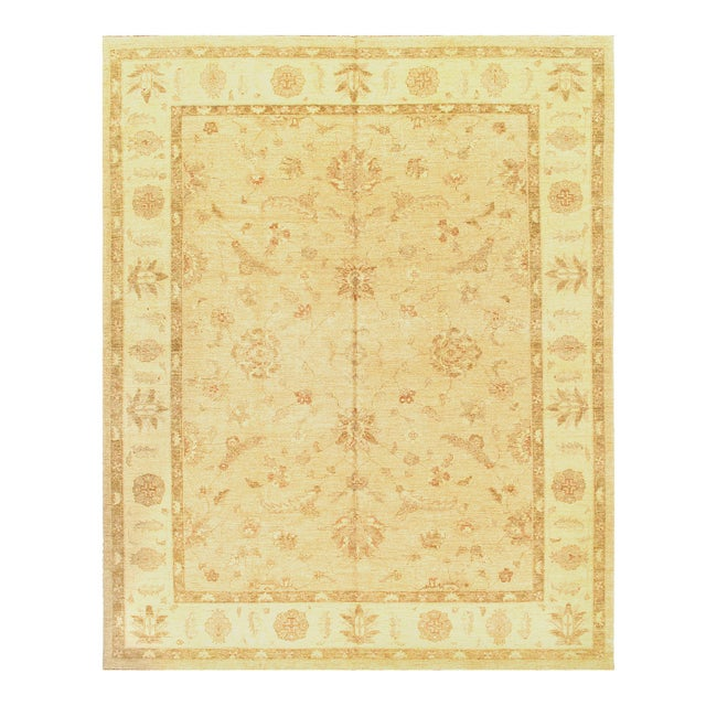 21st Century Pasargad Pak Farahan Design Hand-Knotted Rug - 8′10″ × 11′2″ For Sale - Image 4 of 4