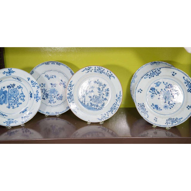 Asian Chinese Export Porcelain Plates For Sale - Image 3 of 10