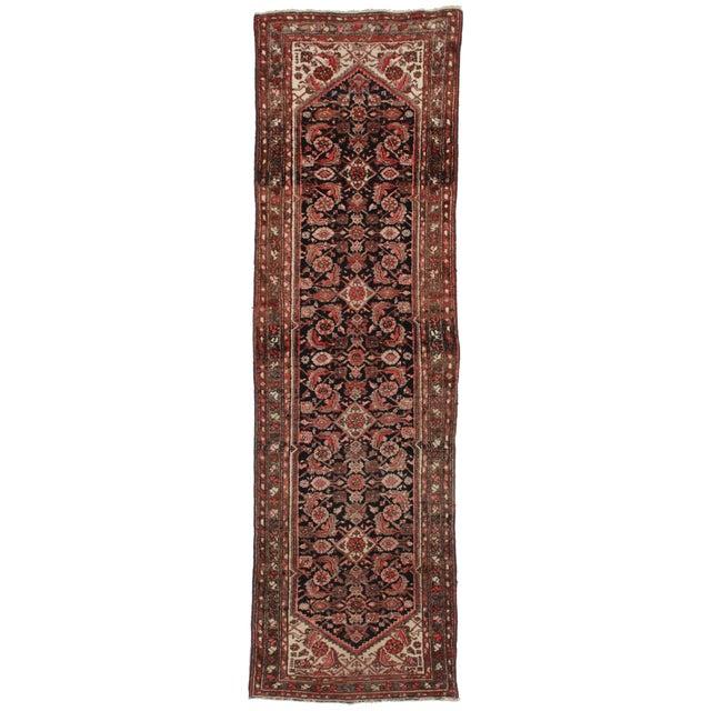 "Vintage Persian Hamadan Runner - 2'10"" X 9""8"" For Sale"
