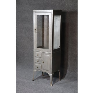 Vintage Louis XV Style Industrial Doctors Display Cabinet Preview